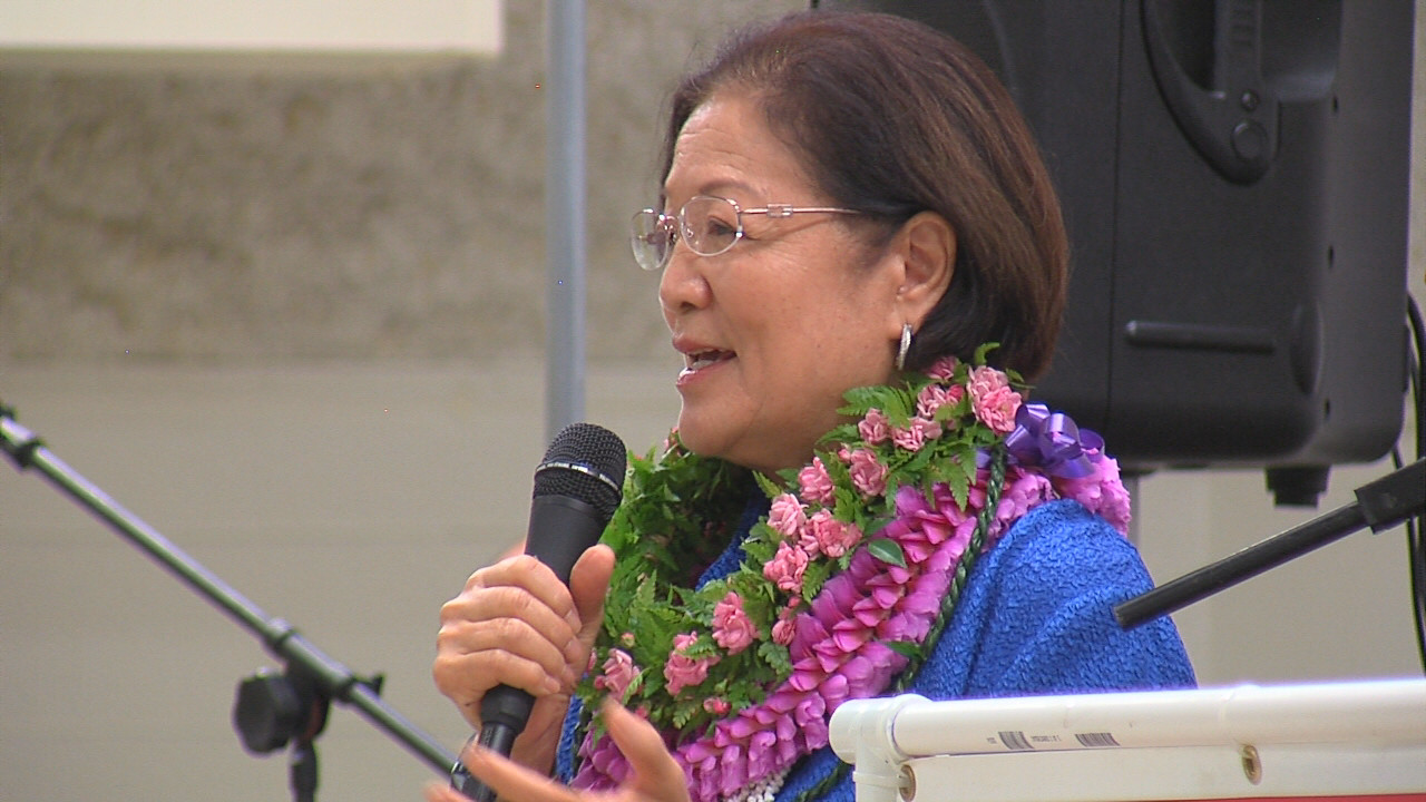 VIDEO: Senator Hirono Takes Aim At Trump In Hilo