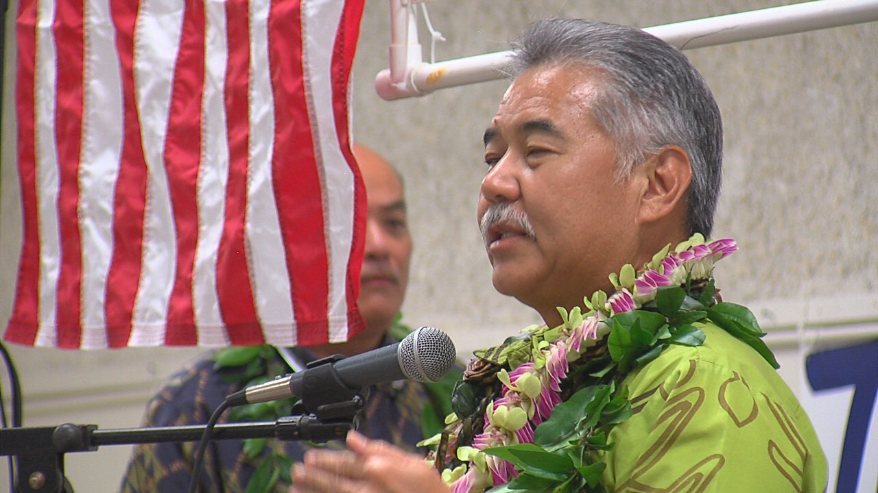 VIDEO: Governor Ige Speaks At Hilo Grand Rally