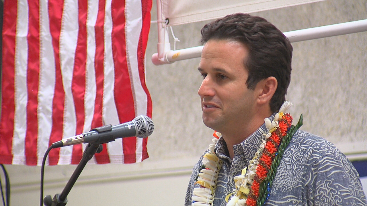 VIDEO: Sen. Brian Schatz Addresses Democrats In Hilo