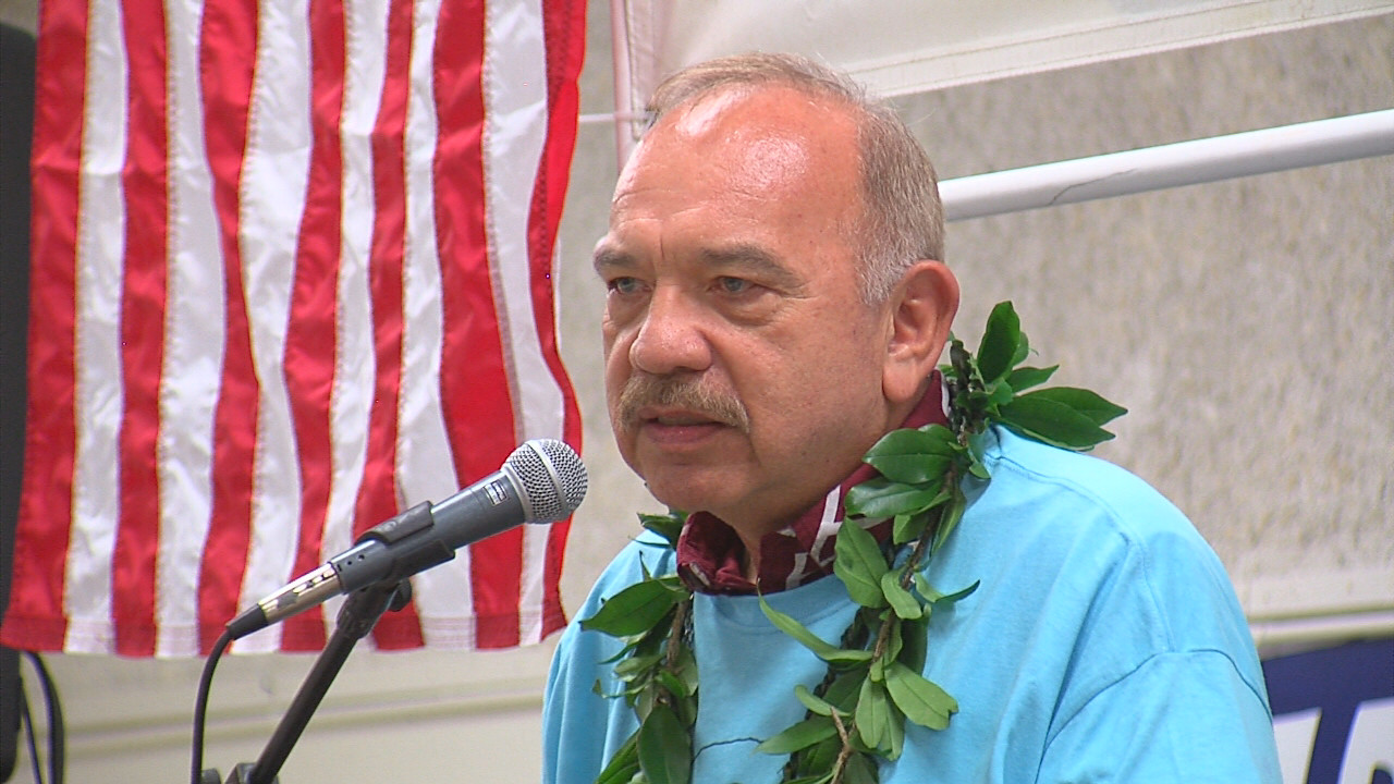 VIDEO: Waihee Delivers One Last Hillary Clinton Speech