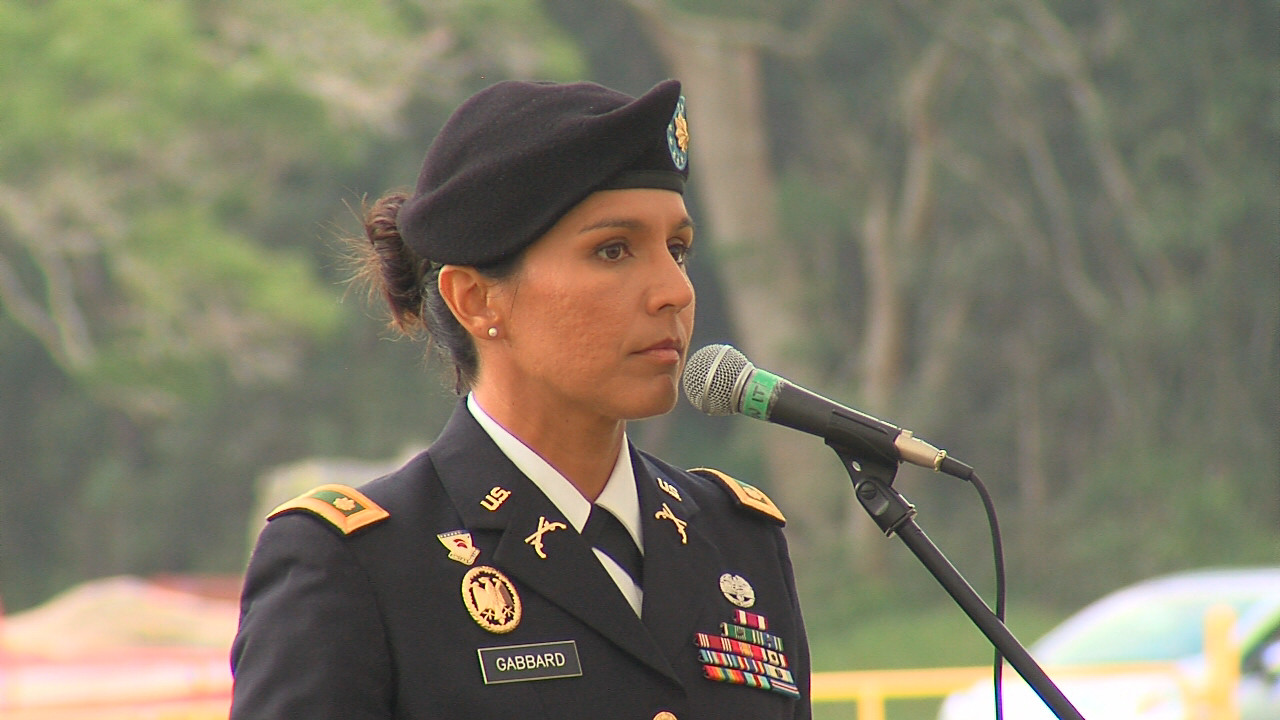 VIDEO: Rep. Tulsi Gabbard Delivers Veterans Day Keynote