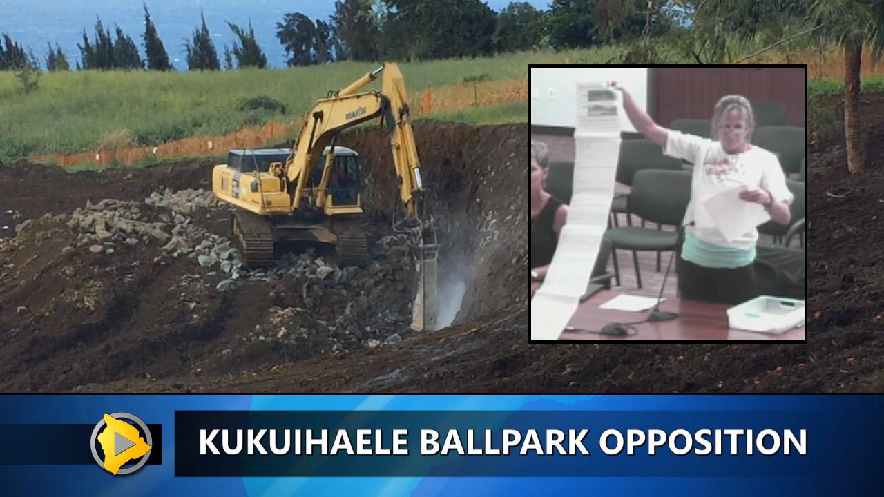 VIDEO: Kukuihaele Ballpark Opponents Speak Out Again