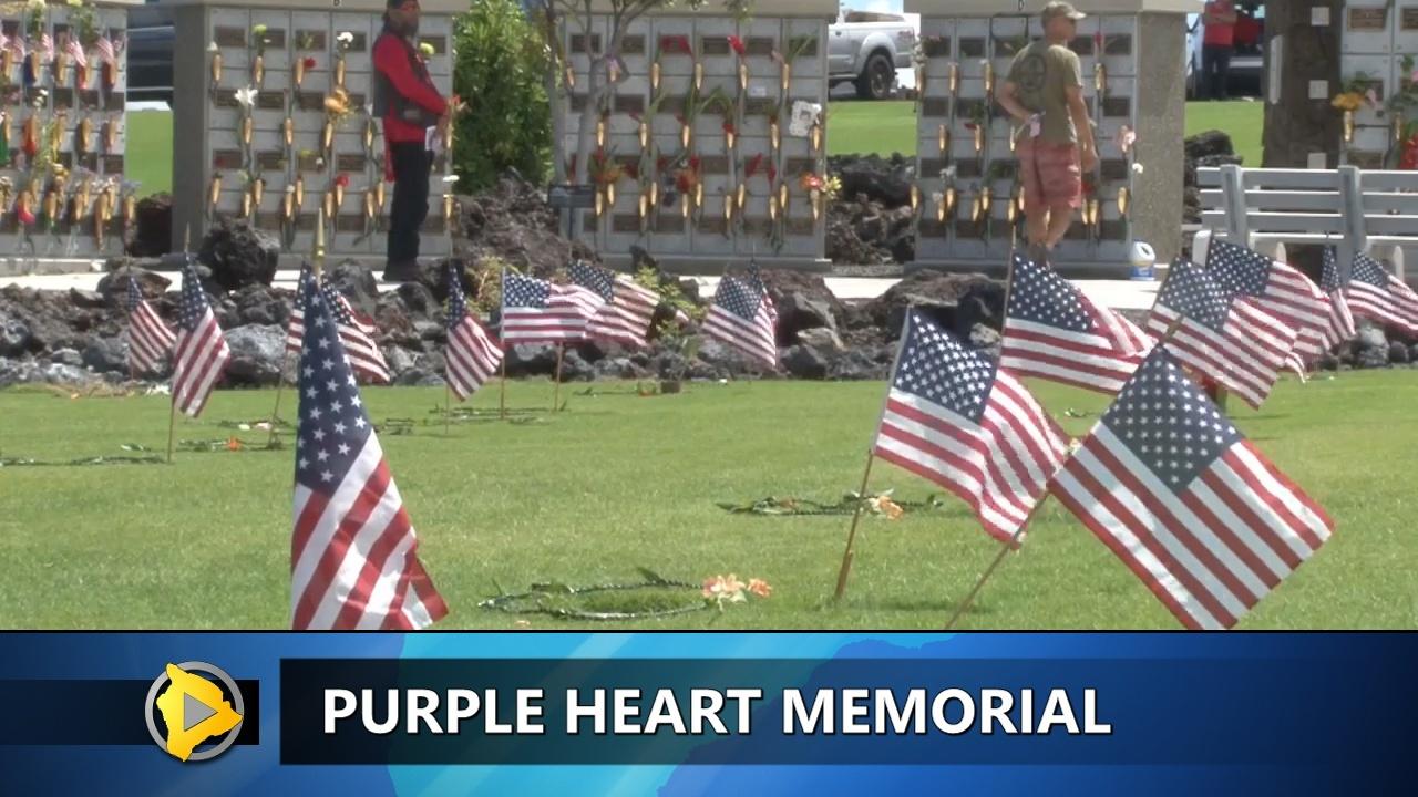 VIDEO: Purple Heart Memorial Planned For Kona
