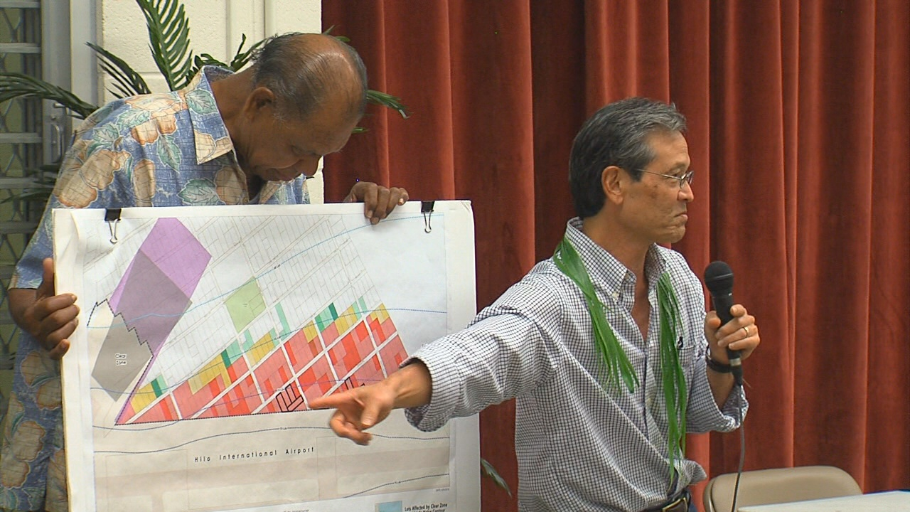 PBR Hawaii consultant Roy Takemoto has already done a lot of work looking into the environmental concerns around Keaukaha.
