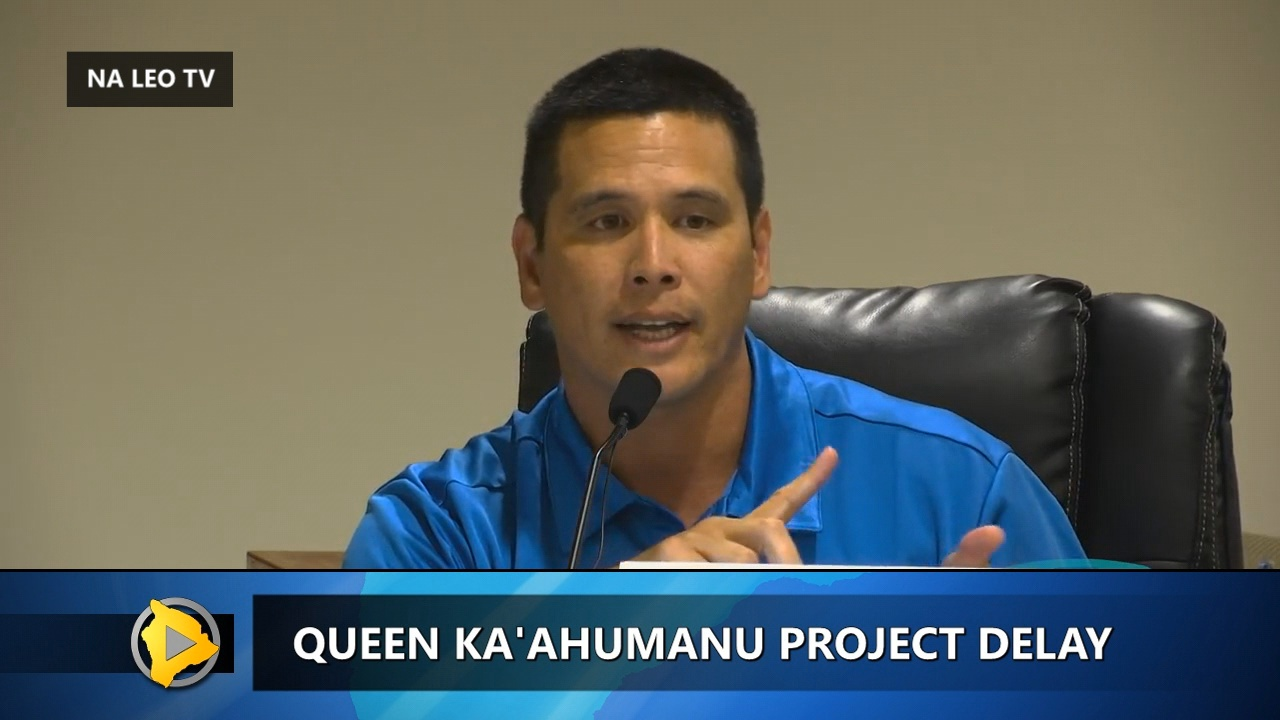 VIDEO: Hawaii DOT Explains Queen Kaahumanu Delay