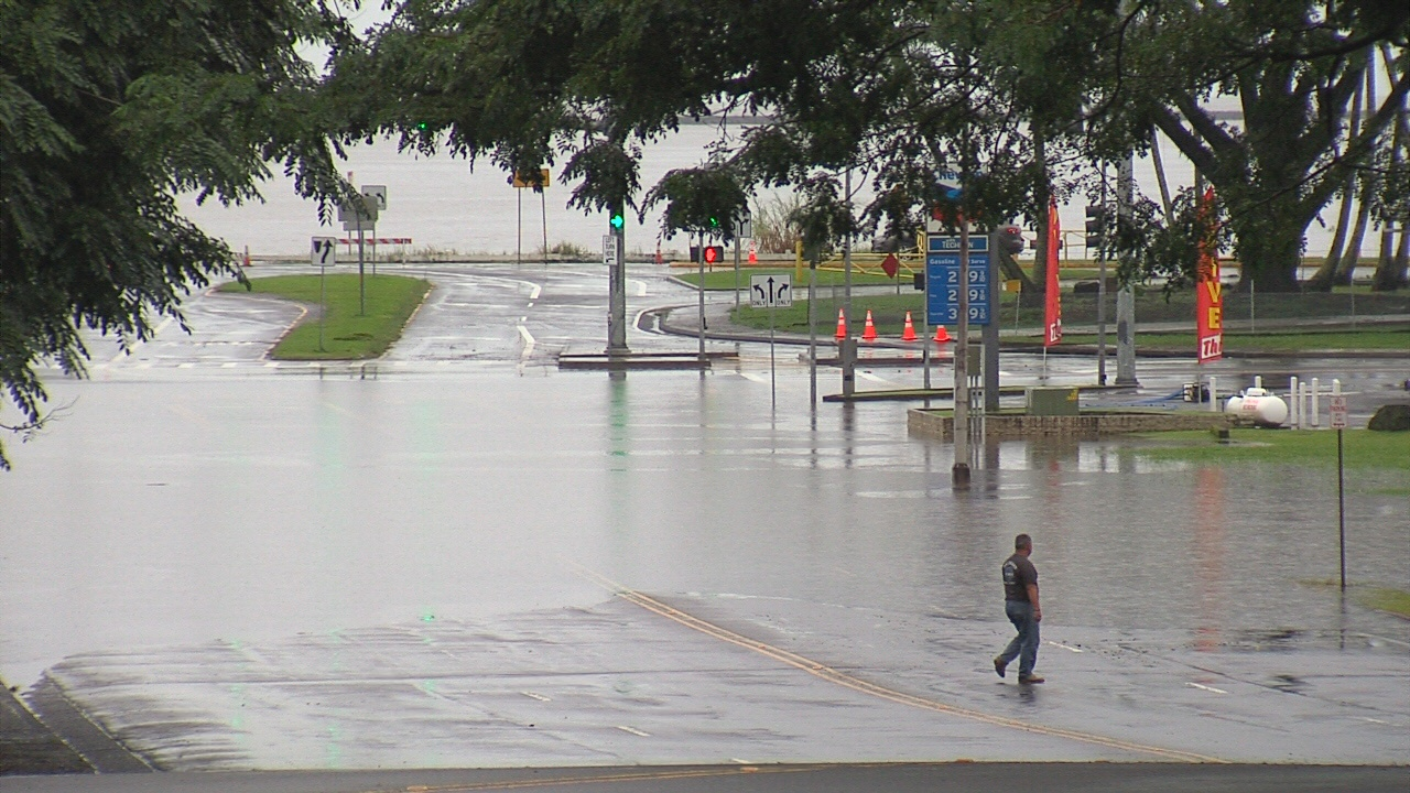 Flash Flood Warning Extended, Some Roads Still Closed