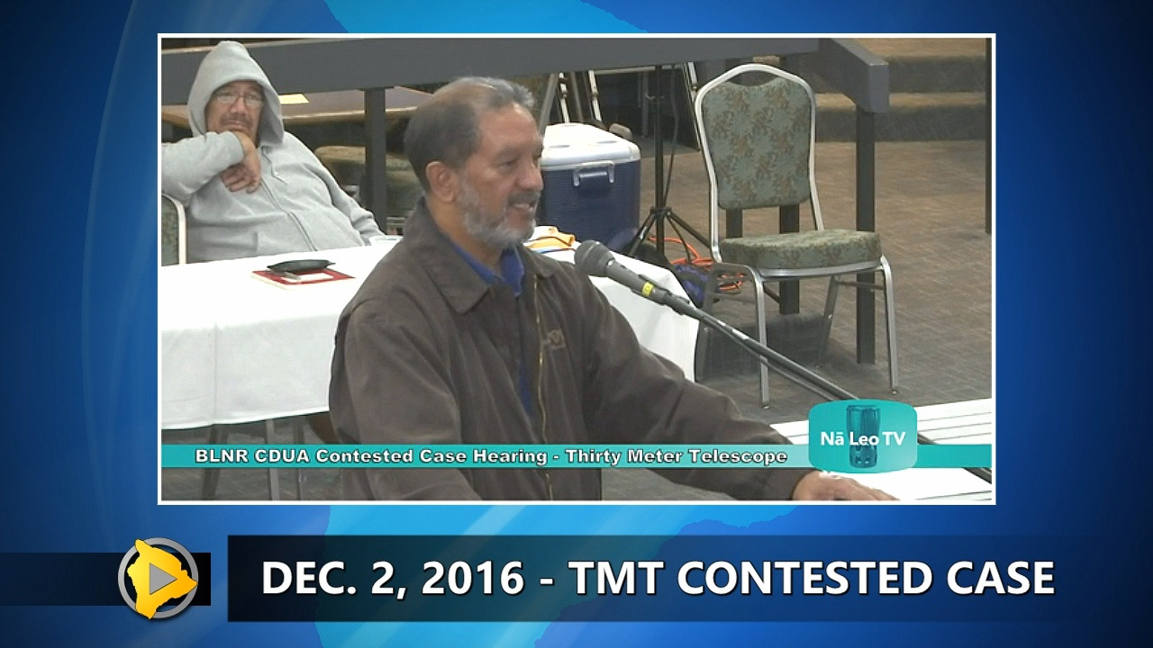 VIDEO: TMT Case – Judge Heen Questioned On Hawaiian Kingdom