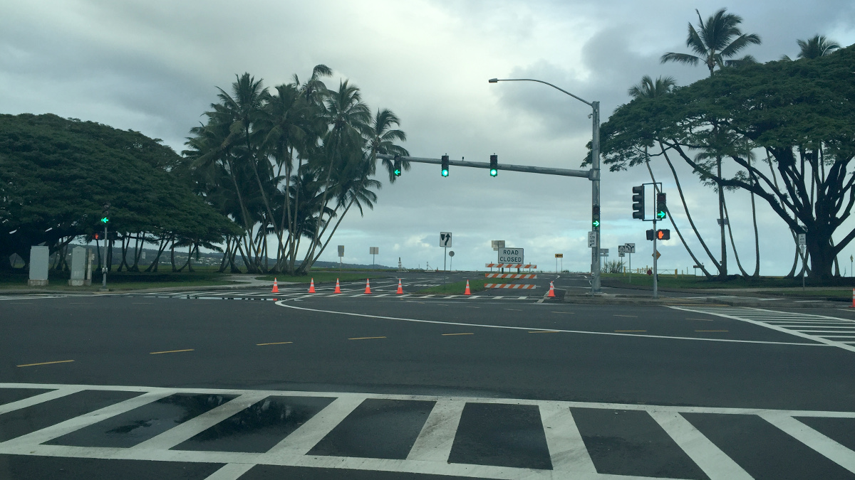 High Surf Closes Highway, Coast Guard Search Underway