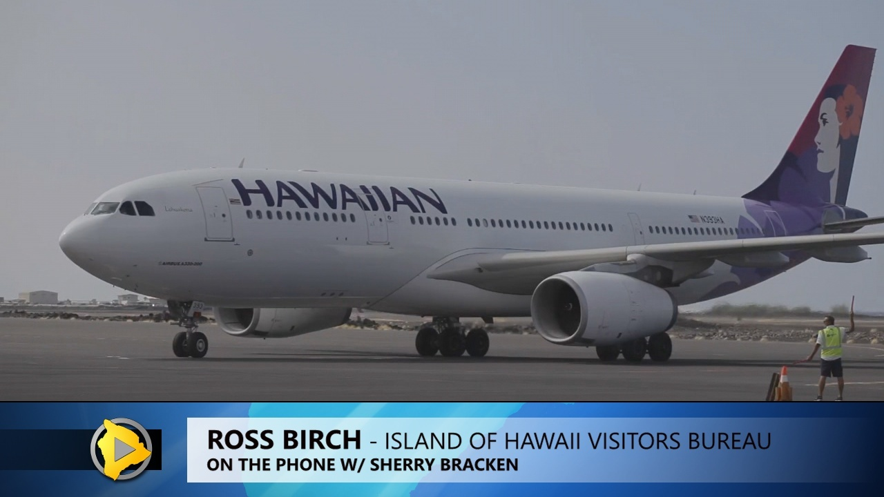 VIDEO: Hawaii Tourism Official Thrilled By New Japan Flights