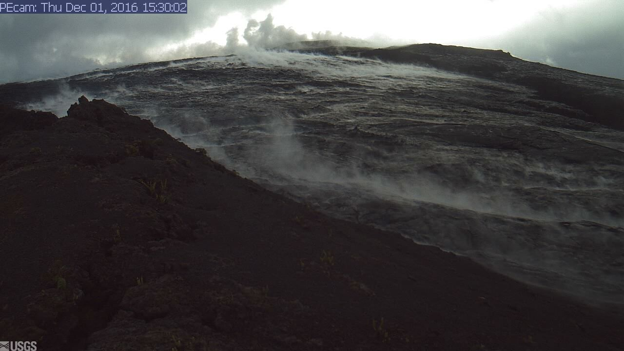 Another Lava Breakout Reported By USGS