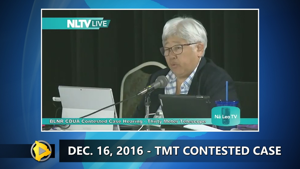 VIDEO: TMT Hearing Continues Despite Sublease Ruling