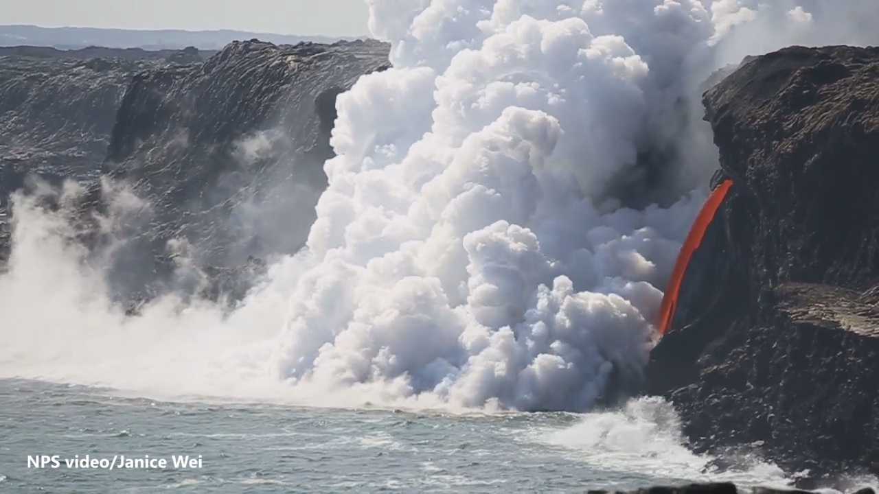 """VIDEO: """"Lava Hose"""" Exposed By Severed Cliff"""