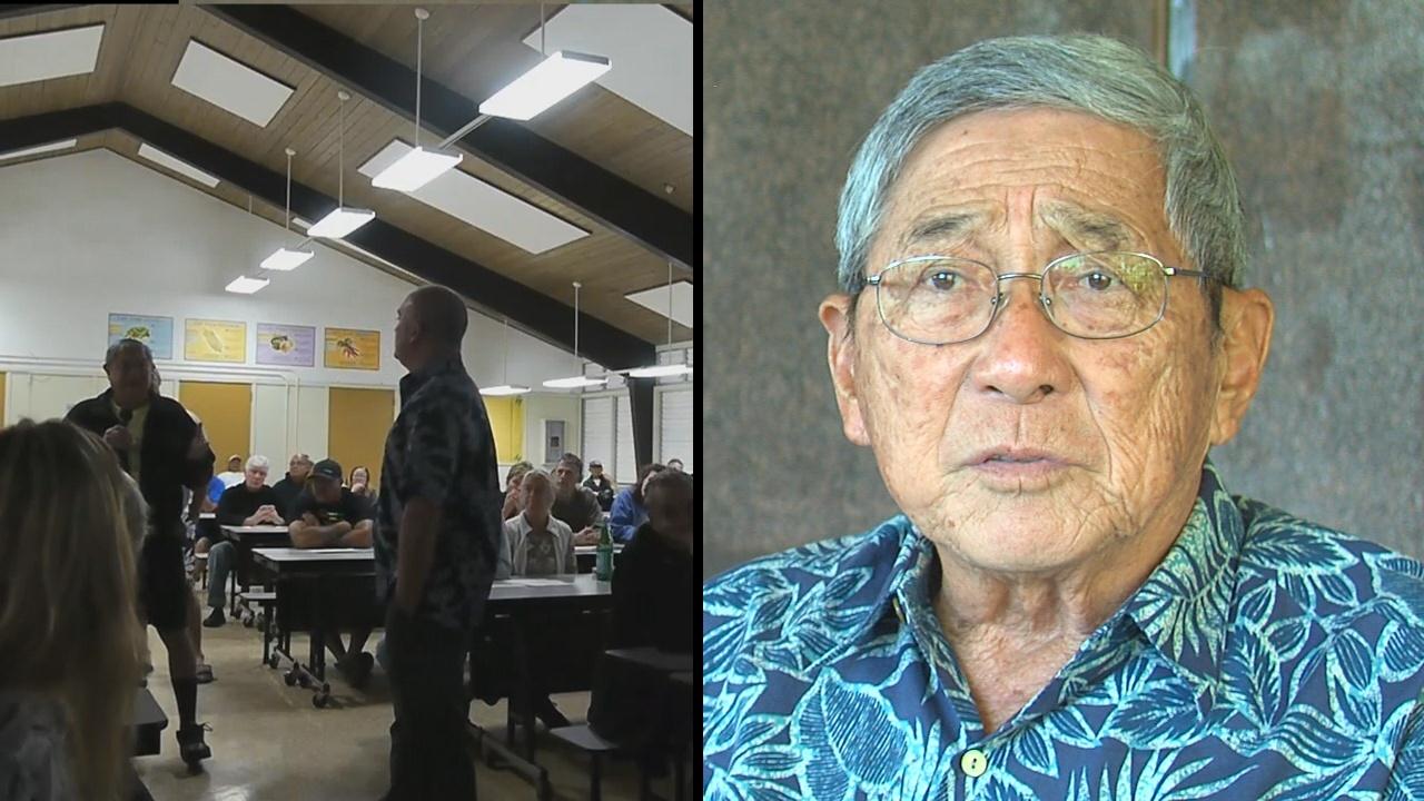 VIDEO: Mayor Kim Explains Kukuihaele Ballpark Nix