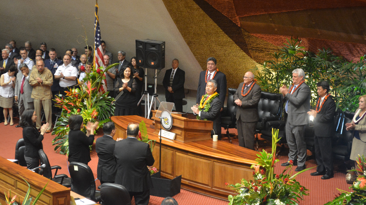 State of the State: Gov. Ige Plans Budget Revision