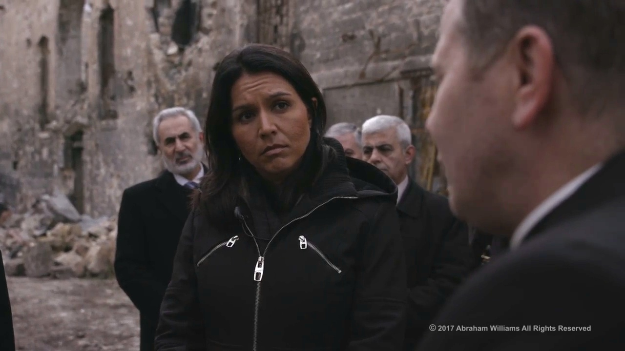 VIDEO: Tulsi Gabbard Posts Video From Secret Trip To Syria