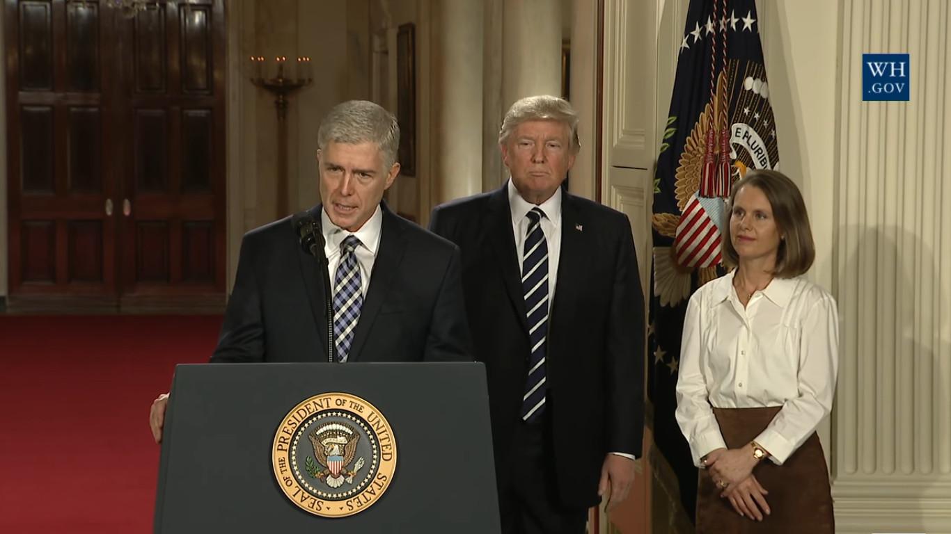 VIDEO: Trumps Picks Neil M. Gorsuch For Supreme Court
