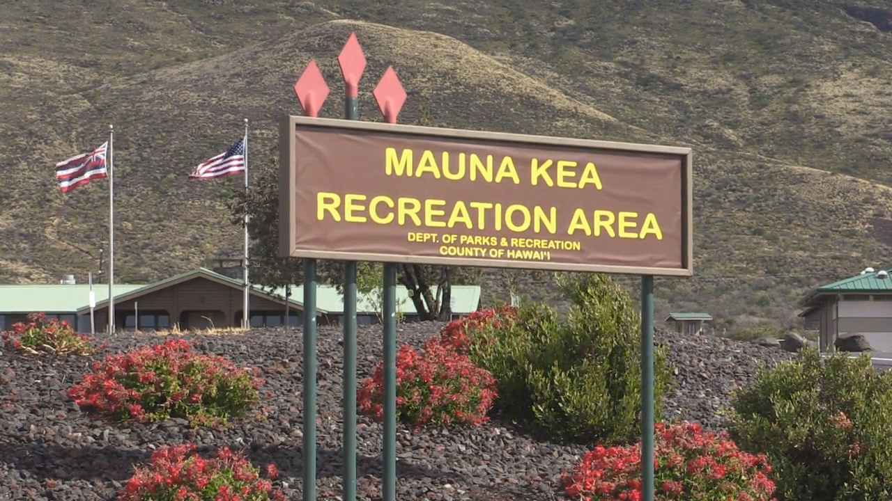 No Water, Mauna Kea Rec Area Closed