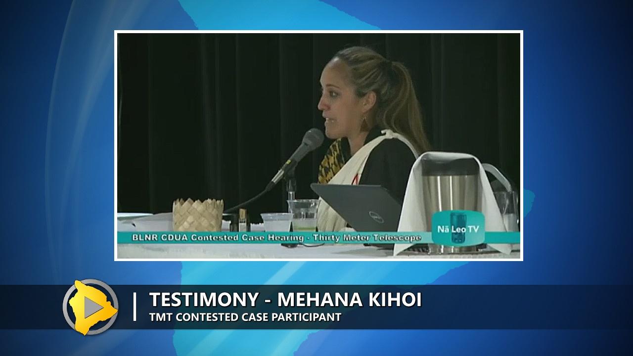 VIDEO: Kihoi Shares Emotional Testimony At TMT Hearing