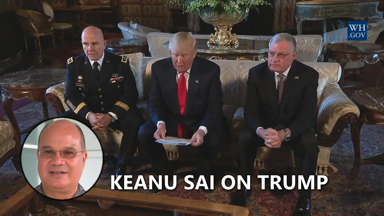 VIDEO: Trump Inherits Hawaiian Kingdom War Crimes, Scholar Says