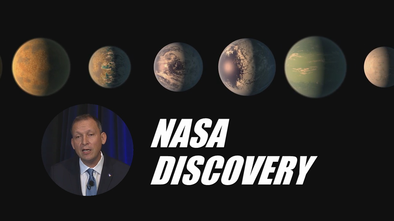 VIDEO: NASA Announces Big Exoplanet Discovery