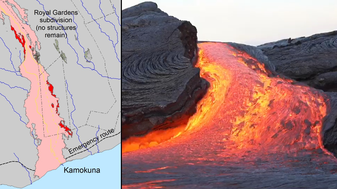VIDEO: Latest Lava Breakouts Mapped, Surface Flows Captured