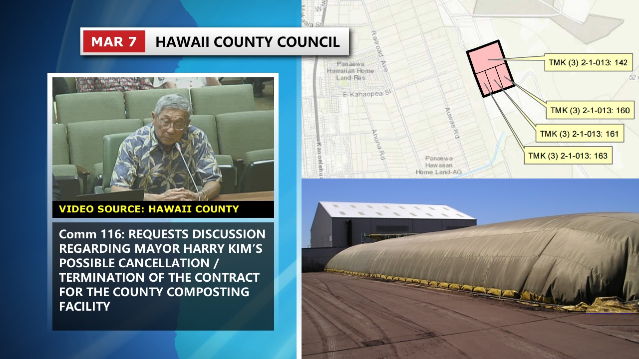 VIDEO: Mayor Kim Faces Council On Compost Contract Cancellation