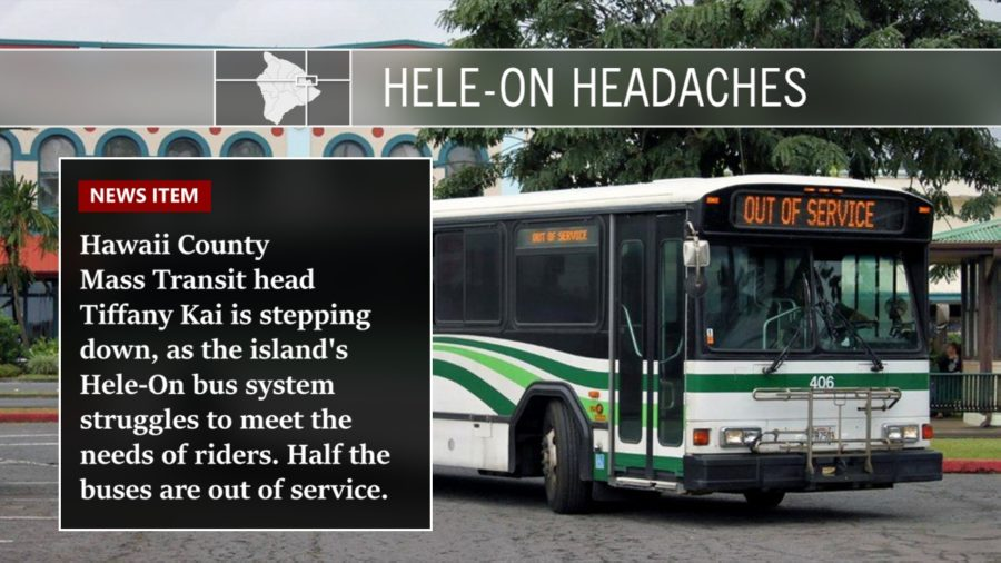 VIDEO: Hele-On Headaches, Mass Transit Head Steps Down