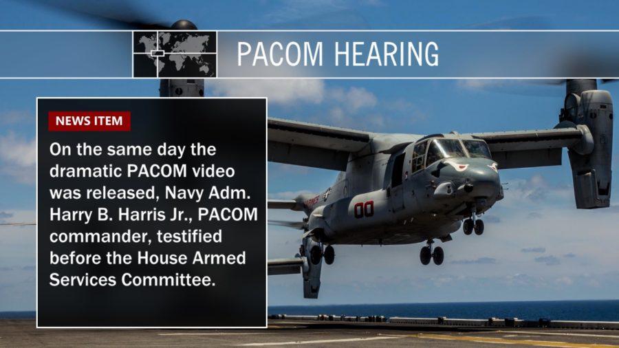VIDEO: PACOM Commander Testifies On Nuke Threat To Hawaii
