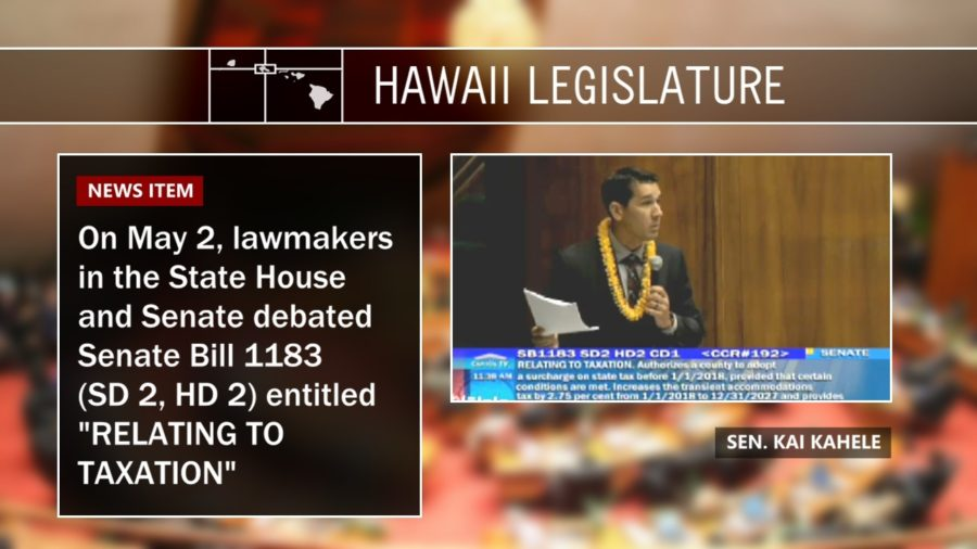 "VIDEO: Sen. Kahele Calls Rail Funding Tax Bill ""Pilau"""