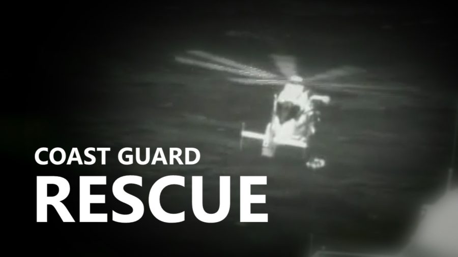VIDEO: Coast Guard Airlifts Cruise Ship Passenger Off Hawaii