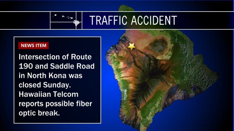 Crash Closes Highway, Causes Possible Fiber Optic Break