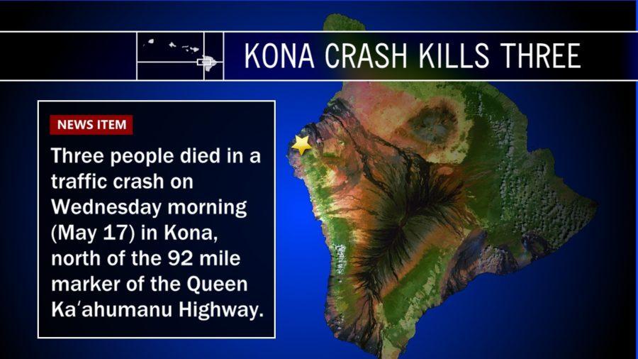 Police Detail Kona Crash That Killed Three