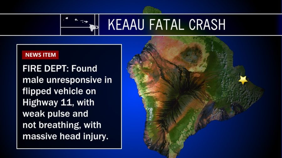 Fatal Crash On Highway 11 In Keaau