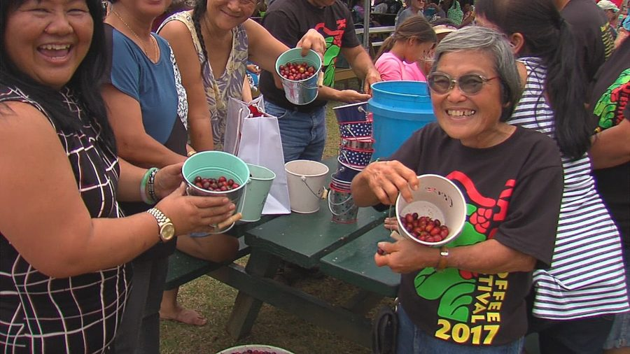 VIDEO: 2017 Ka'u Coffee Festival Ho'olaule'a Held