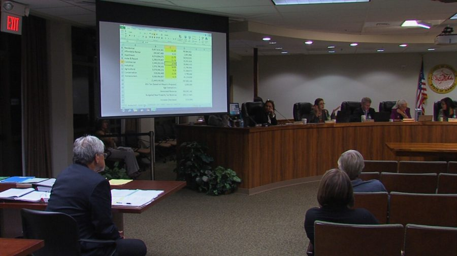 VIDEO: Council Tinkers With Tax Rates Late Into The Night