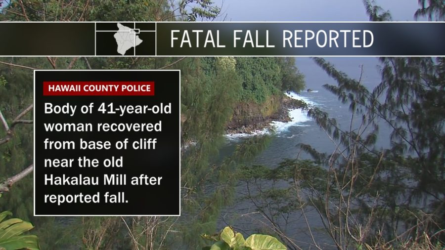 Woman Dies After Reported Fall From Hakalau Cliff