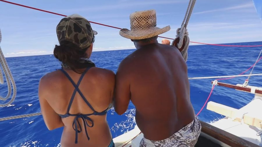 VIDEO: Hokulea Finds Hawaii, Heading Home