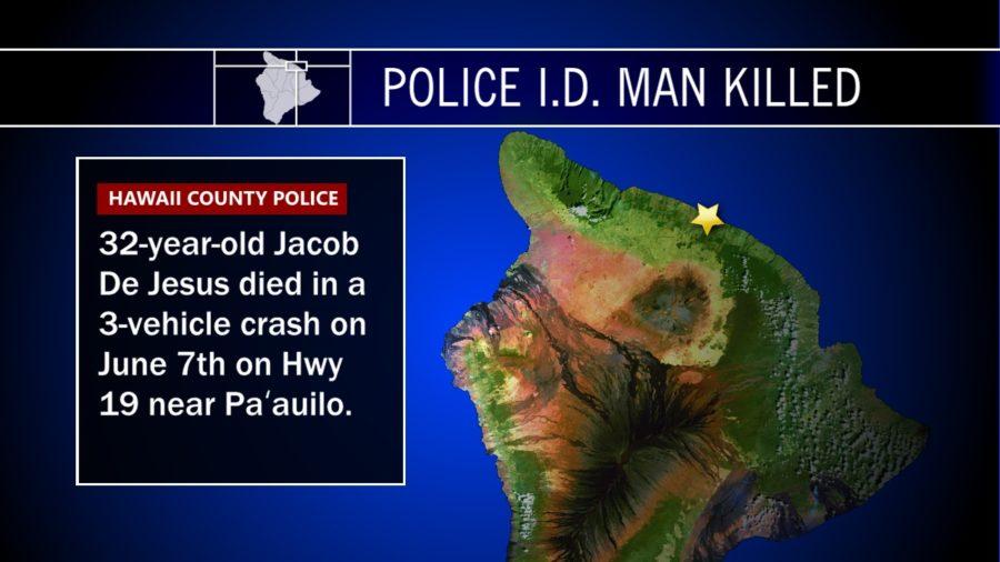 Police ID Man Killed In Traffic Crash Near Paauilo