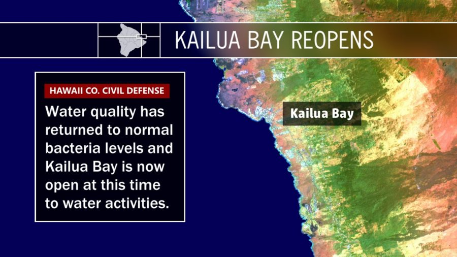 Kailua Bay Reopens After Sewage Spill