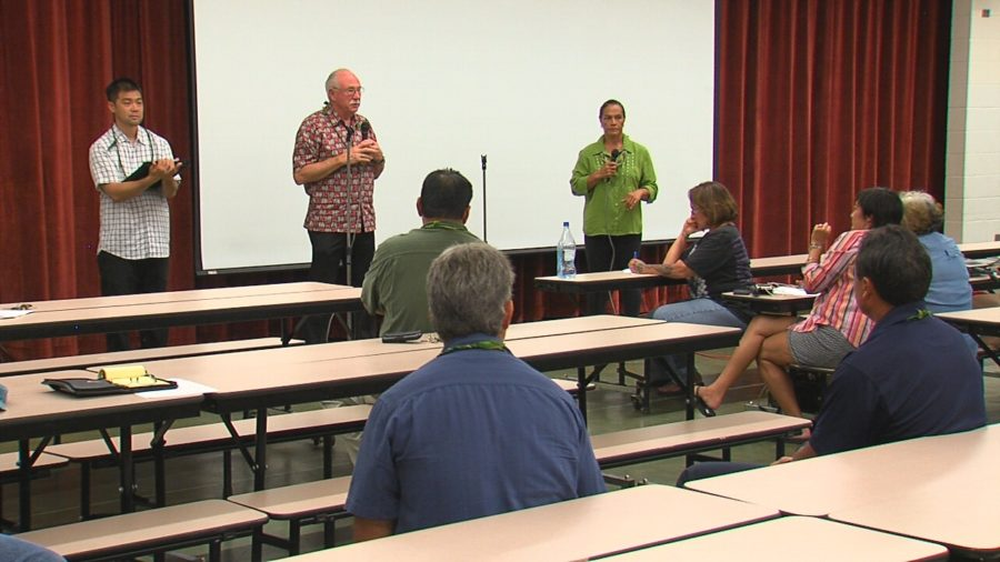 VIDEO: Keaukaha Action Network Meeting On Sewage
