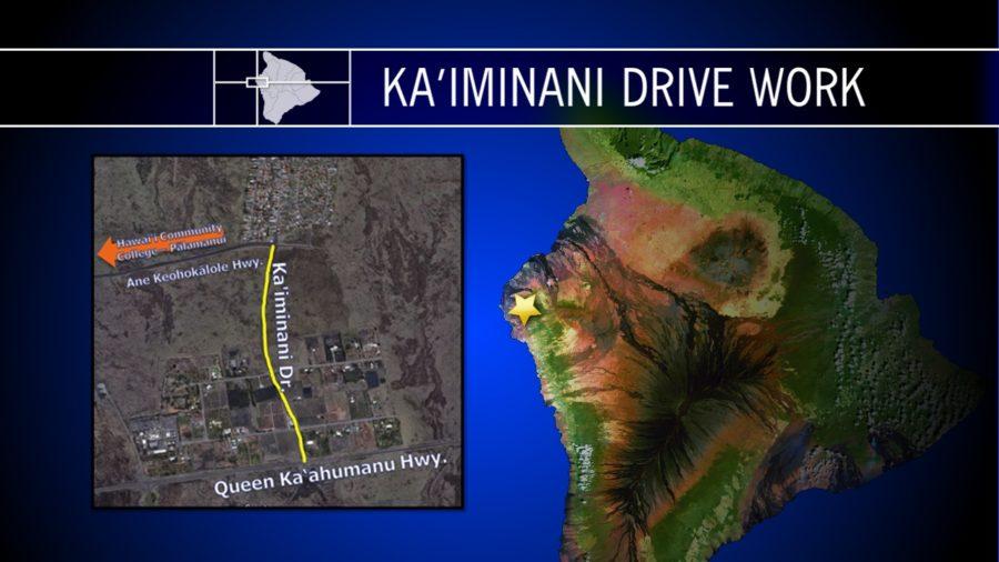 Kaiminani Drive Resurfacing Set For Monday, June 19