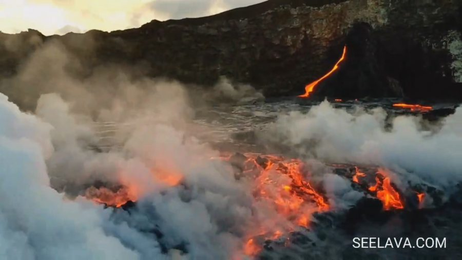VIDEO: Delta Collapse Produces New Lava Breakouts At Ocean