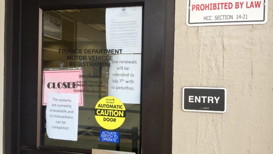 Computer Troubles Keep Hawaii DMV Shut Down