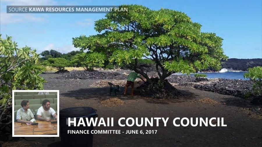VIDEO: Stewardship Of Kawa Discussed At Finance Committee