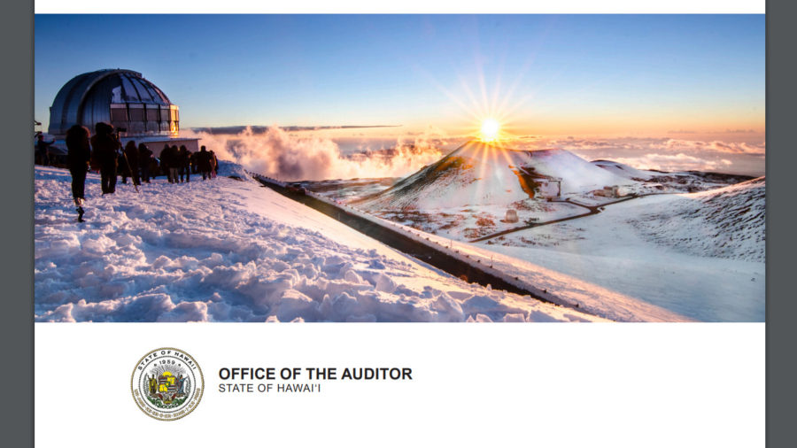 State Auditor Follows Up On Mauna Kea Management