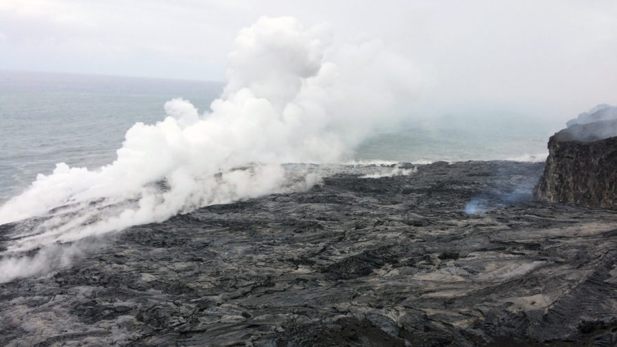 Scientists, Coast Guard Warn Of Lava Delta Collapse