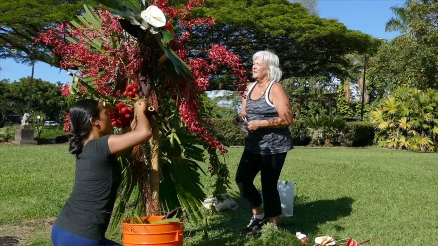 VIDEO: Liliuokalani Gardens Gets Floral Makeover