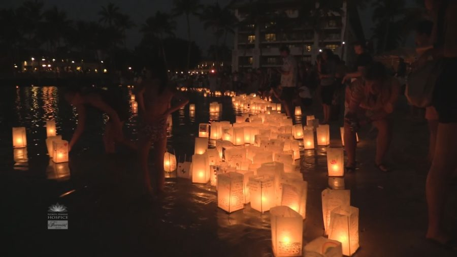 VIDEO: North Hawaii Hospice Lantern Floating Ceremony