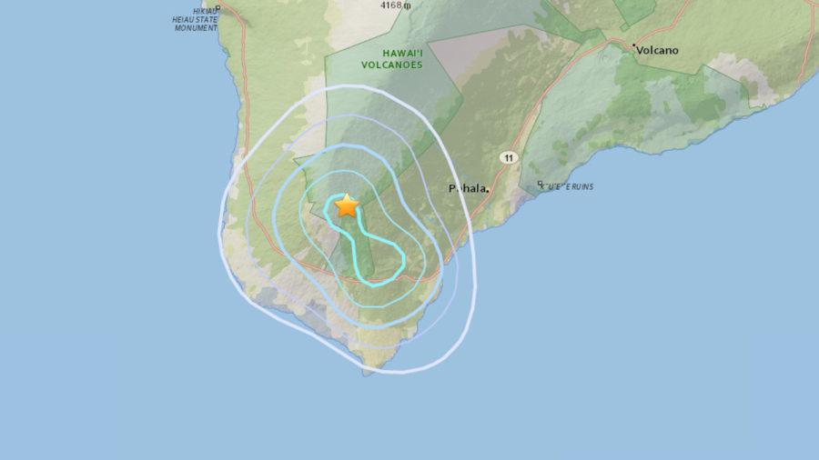 3.8 Earthquake Hits Hawaii Island's Ka'u District