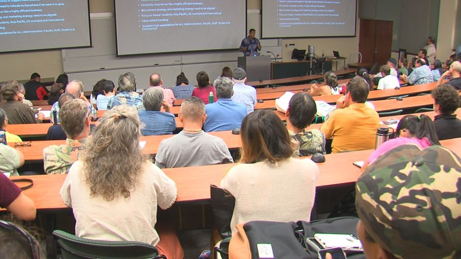 VIDEO: Senator Kahele Lectures UH On Declining Enrollment